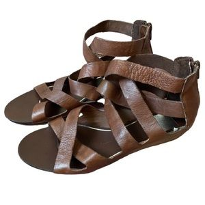 Dolce Vita Brown Gladiator Sandals